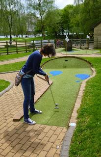 Mini Golf at Rutland Water Visitor Centre