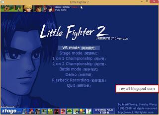 menu mode permainan little figtter 2 - rev-all.blogspot.com