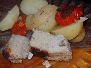 lomo al horno