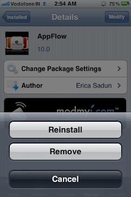 cydia remove