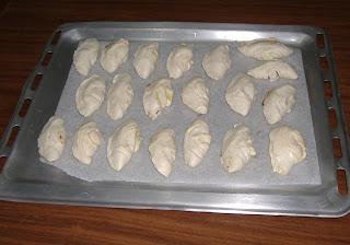 conchiglie di pasta sfoglia con nutella