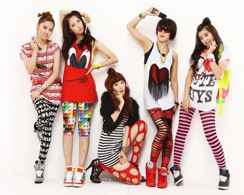 Salah satu kumpulan K-pop yang menjadi kegilaan remaja iaitu 4 Minute