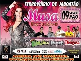 FERROVIÁRIO DE JABOATÃO - MUSA EXCLUSIVE.