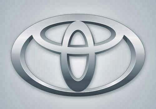 Create the Toyota logo