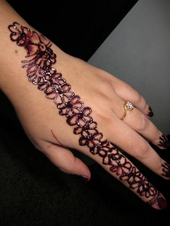 Mehndi Designs Step By Step For Hands : Mehndi designs step by