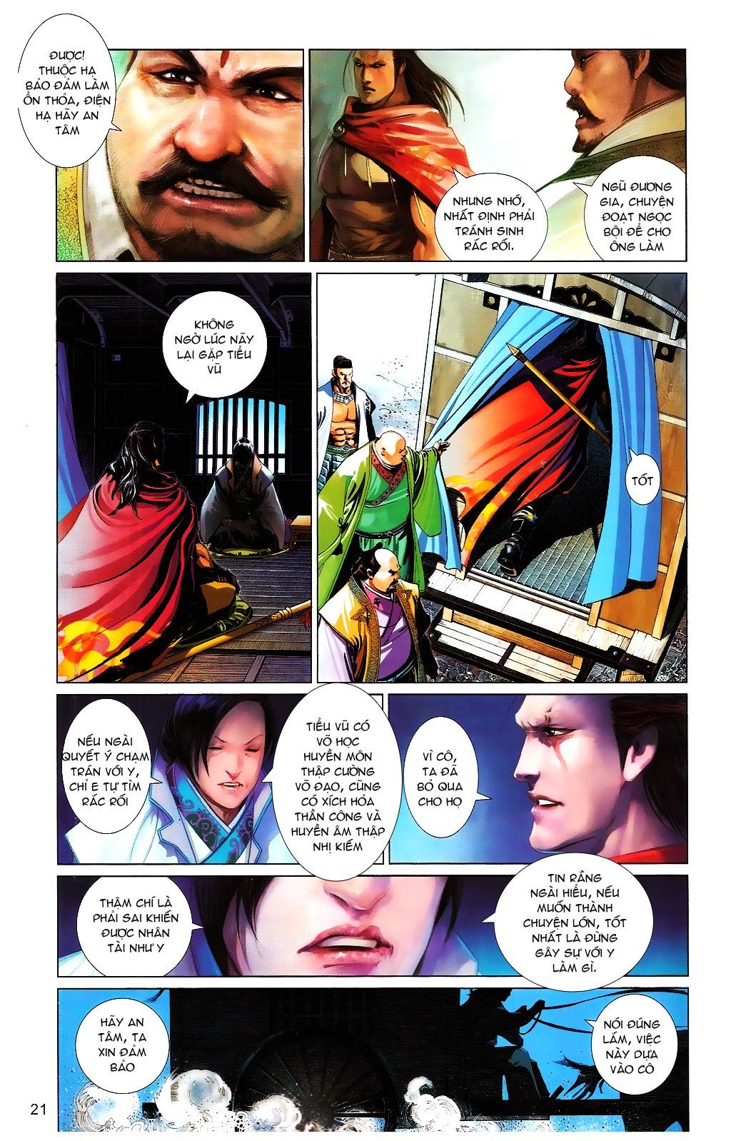 Phong Vân chap 664 Trang 21 - Mangak.info