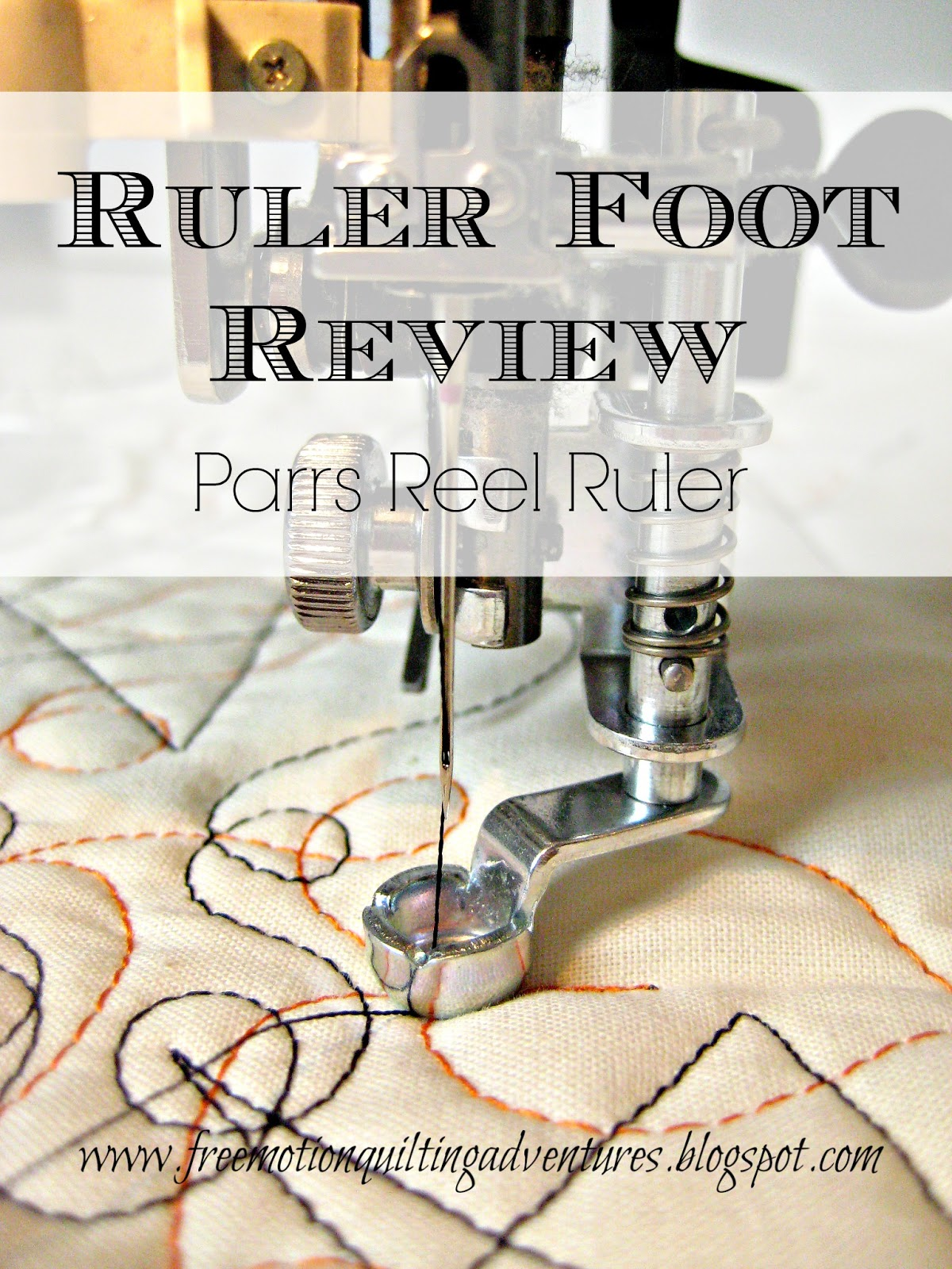Amy S Free Motion Quilting Adventures A Ruler Foot