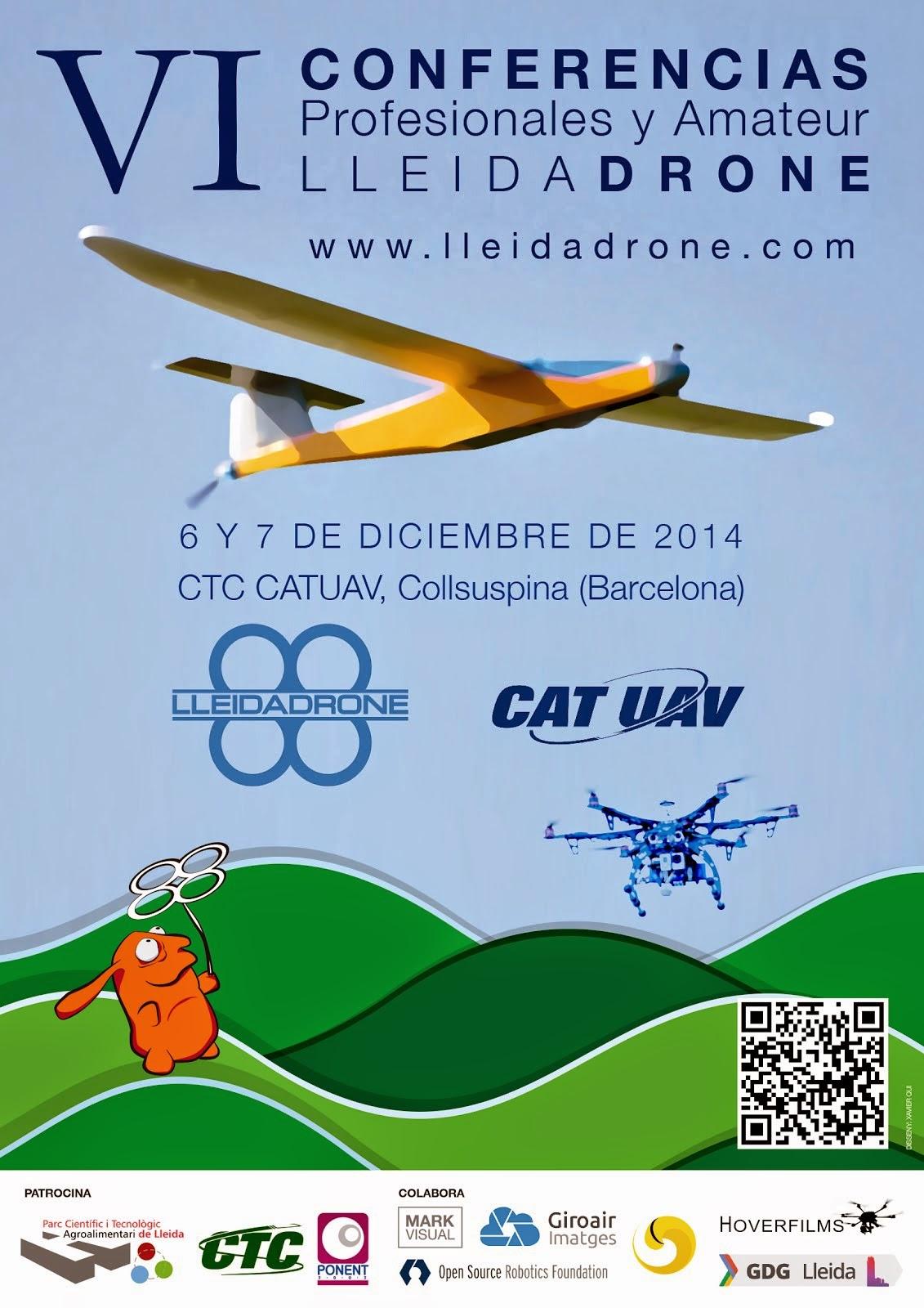 VI Conferencias Lleida Drone