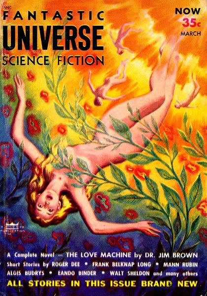 Fantastic Universe Science Fiction - March 1954