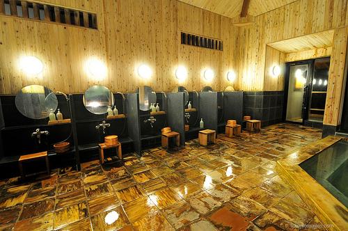 Baños Japoneses Onsen:Noticias Bujinkan Dojo Huelva: El baño en Japón: OFURO Y ONSEN ♨
