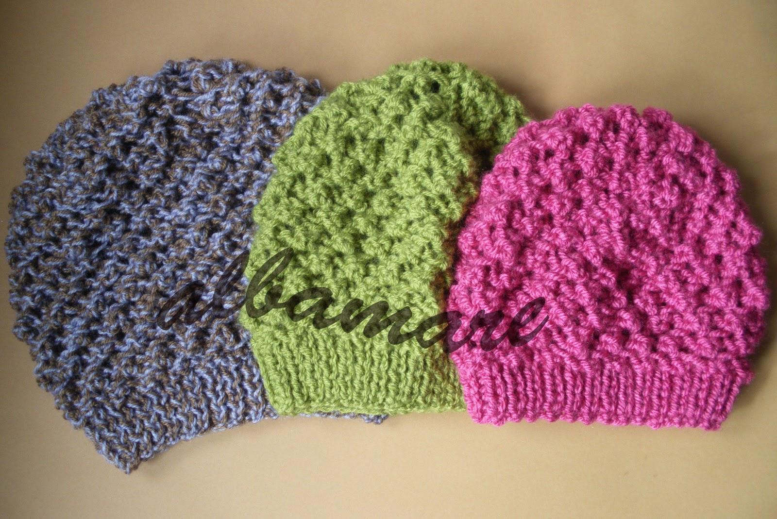 Hacer gorros de lana con dos agujas - Como hacer punto de lana paso a paso ...