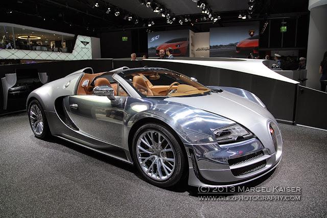 Bugatti Veyron, IAA 2013 Frankfurt, photography by Marcel Kaiser