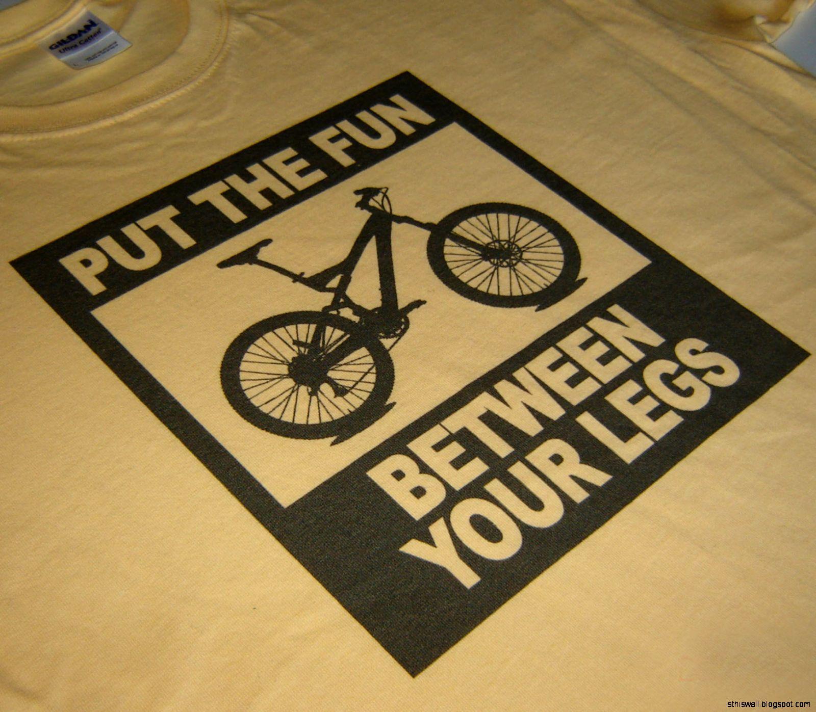 Funny Mountain Bike Shirts
