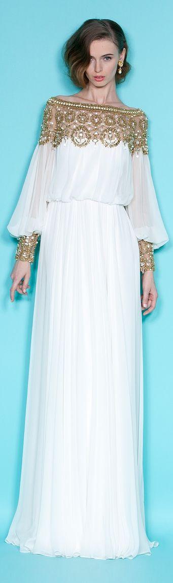 Desejo do dia vestido Marchesa Look do dia, Looks, Moda, Tendências Primavera-Verão 2015,