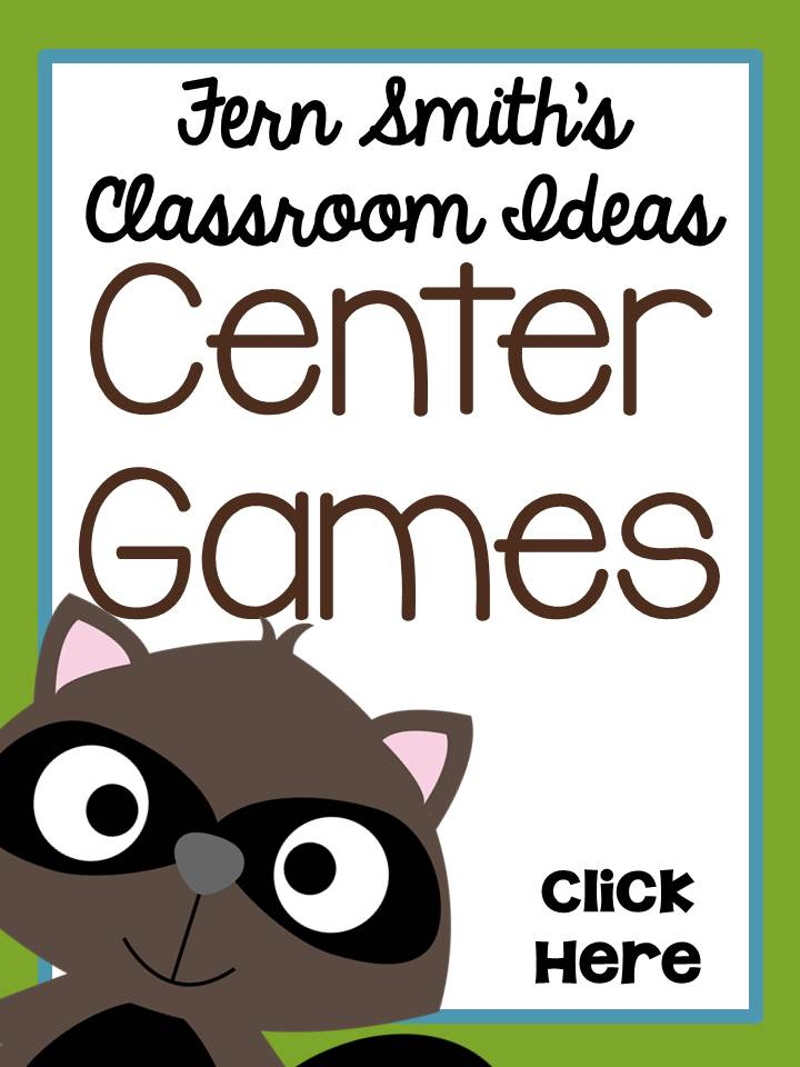 Fern Smith's Classroom Ideas Center Games Web Site
