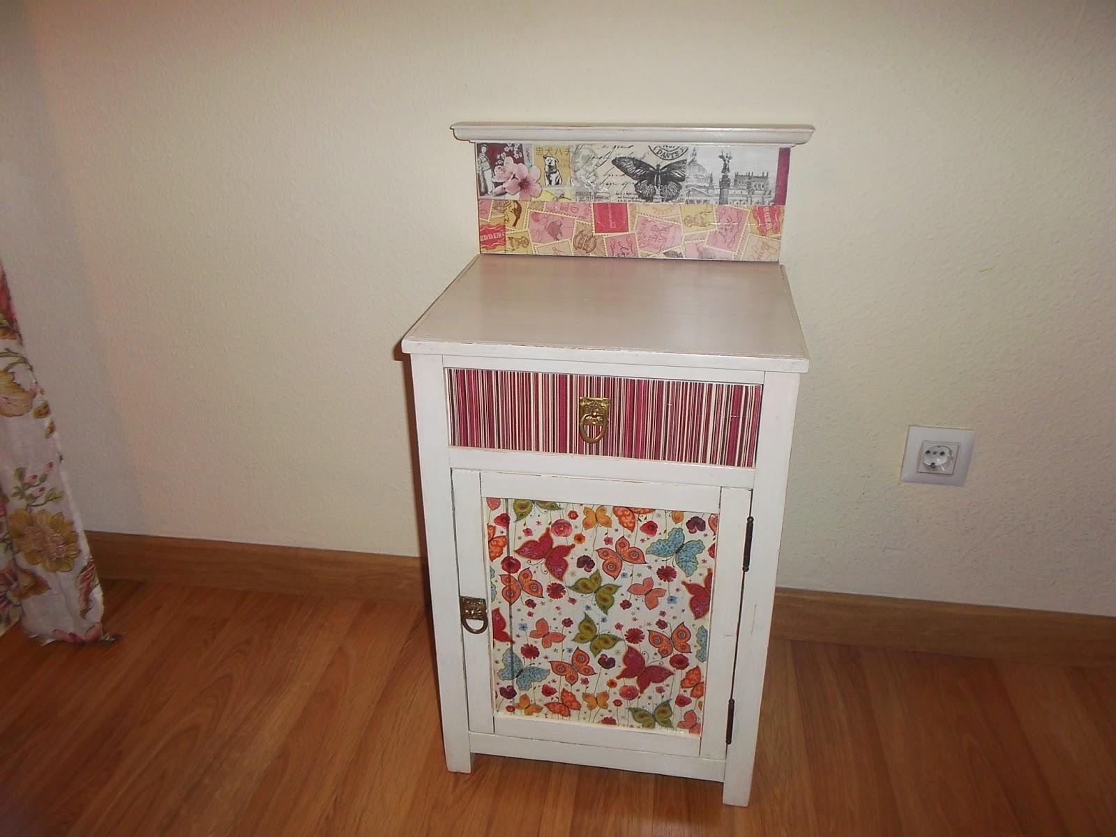 Artesare decorar con servilletas for Decoupage con servilletas en muebles