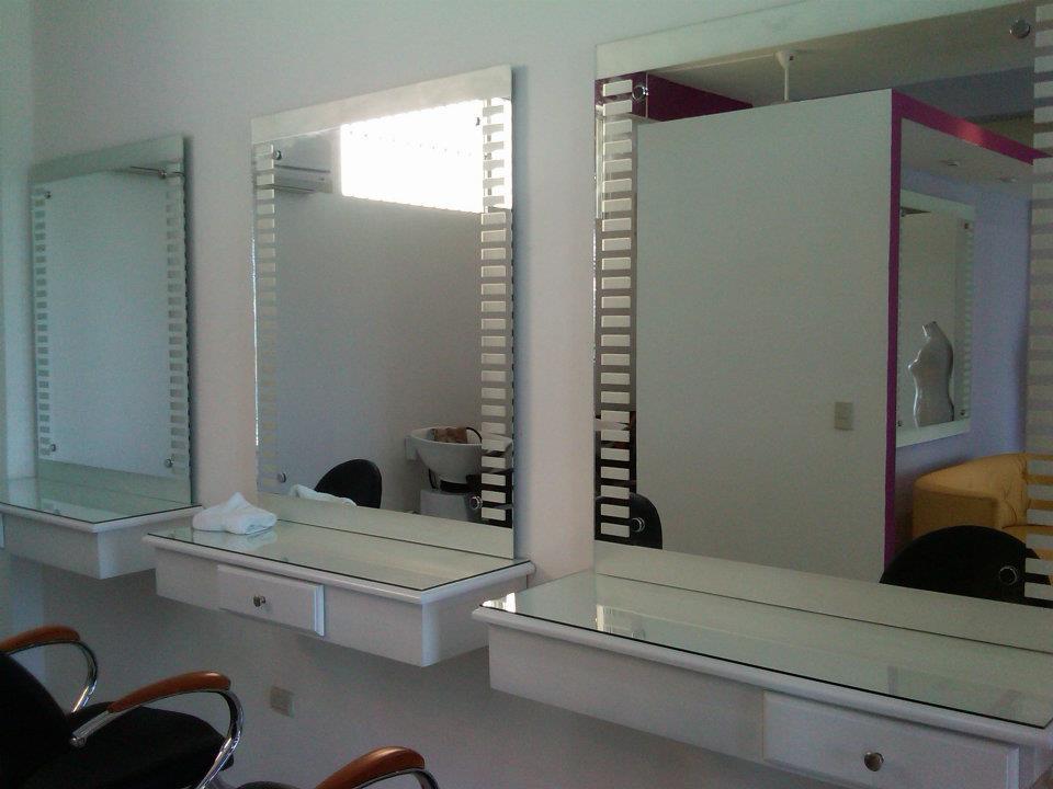 Maxi vitrales y vidrios - Espejos de salon ...