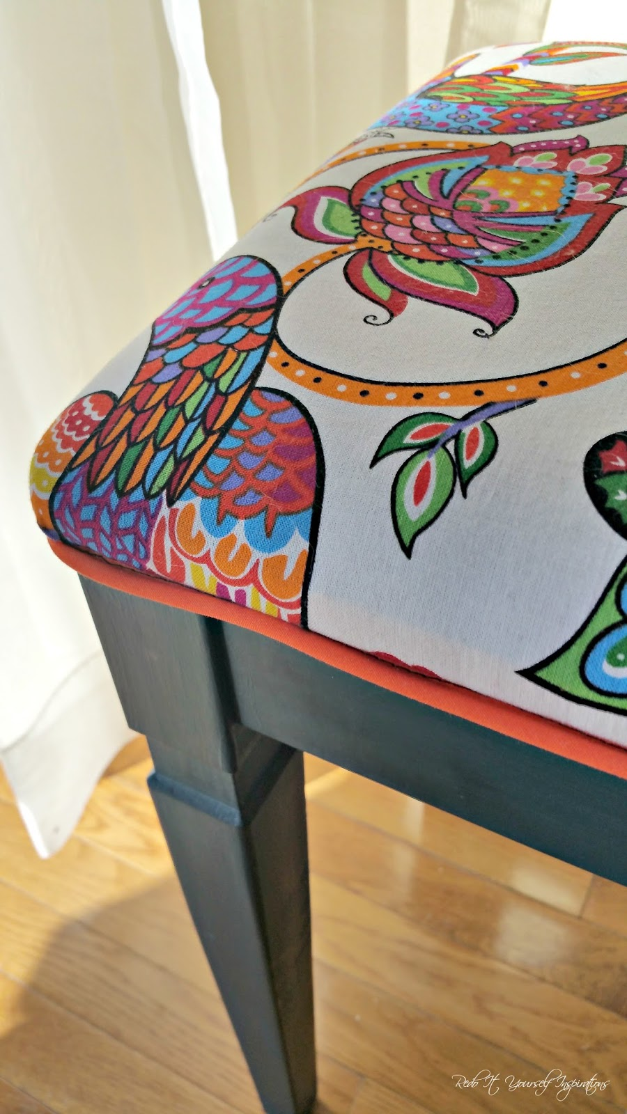 Boho Inspired Piano Bench Redo It Yourself Inspirations