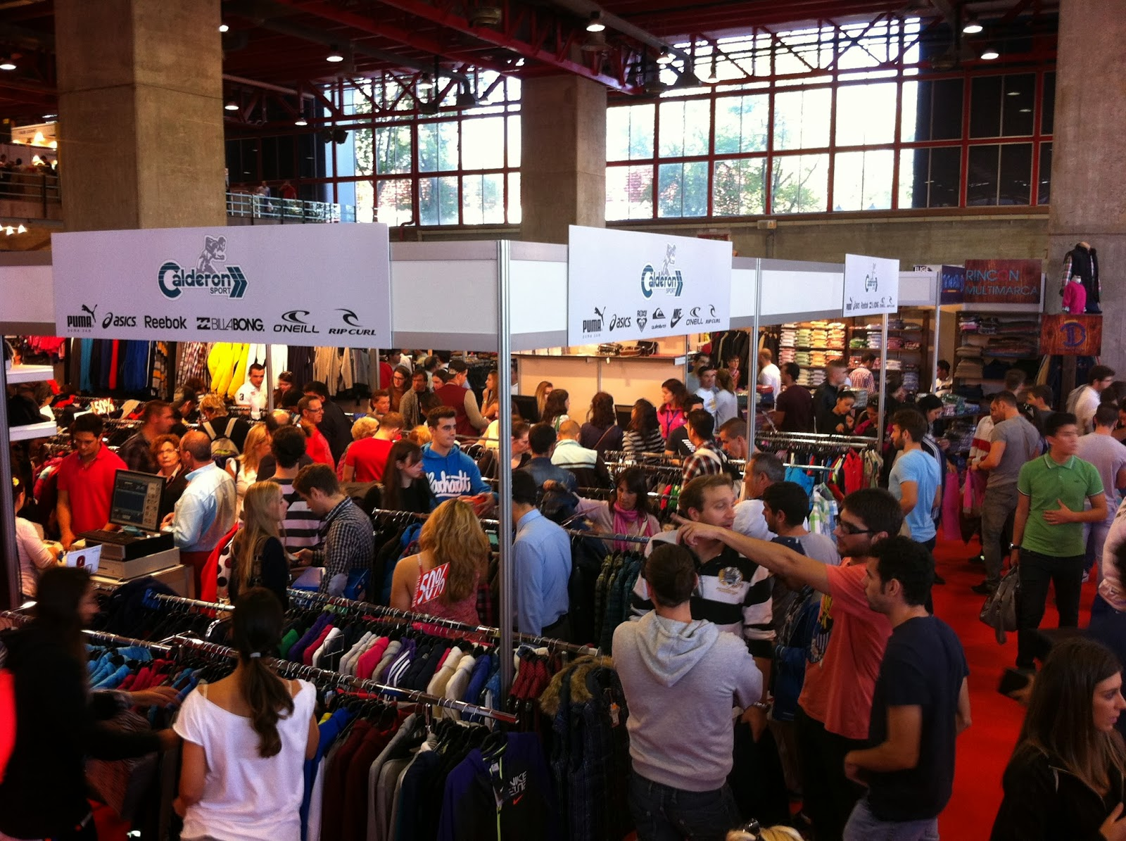 M s de visitantes a stock 2 feria outlet madrid - Gancedo outlet madrid ...