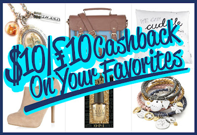 £10 cashback on your favourites