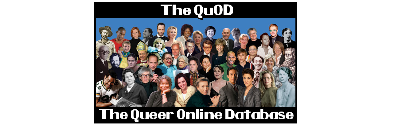 The QuOD - The Queer Online Database