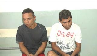 PM prende dupla suspeita de envolvimento em assalto a loja de eletrodomésticos de Caxias