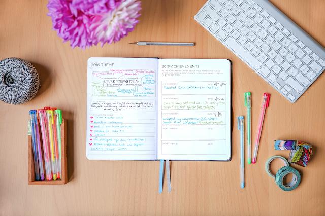spark planner, sparknote, goals, planning