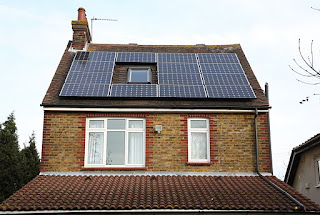 Solar Panel Electricity Generated 2012