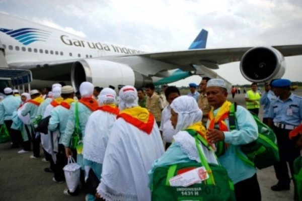 Garuda Indonesia, Penerbangan Haji. ZonaAero