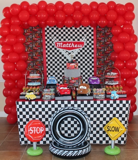 Cars 2 Decoración de Fiestas Infantiles - Party Ideas : Fiestas ...