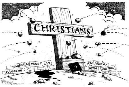 Primele 50 de țări ale lumii unde este periculos să fii creștin