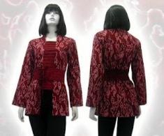 baju batik modern 01