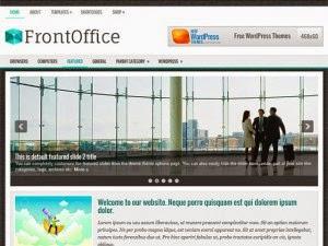 FrontOffice - Free Wordpress Theme