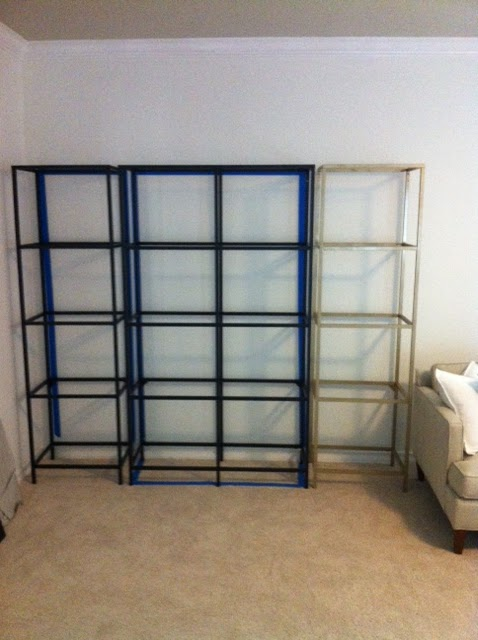 lauren kelly gold etagere ikea hack