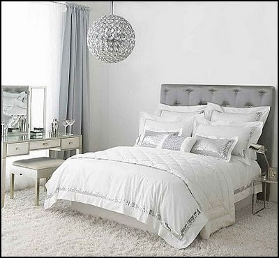 Chic and cheap lifestyle hollywood style marilyn monroe for Hollywood glam bedroom
