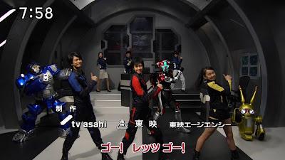 Tokumei Sentai Go-Busters Ending