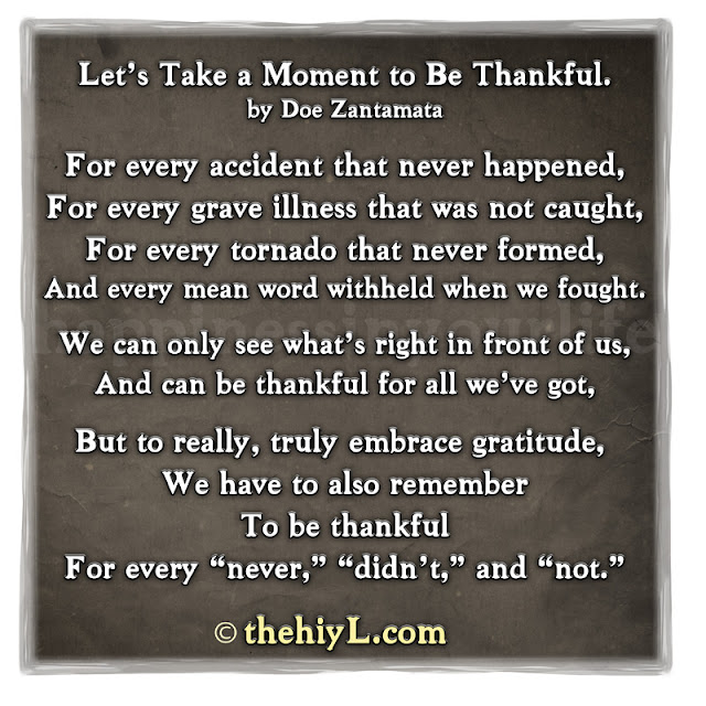 The hiylife www thehiyl com let s take a moment to be thankful