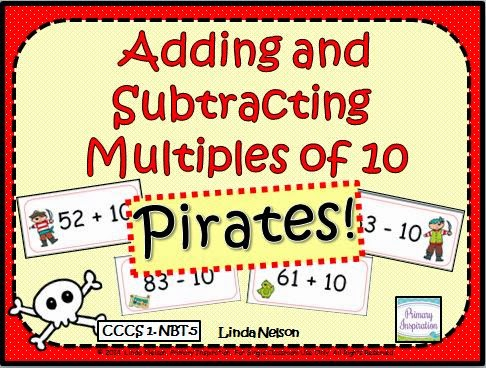 http://www.teacherspayteachers.com/Product/Adding-and-Subtracting-Multiples-of-Ten-Pirates-1127660
