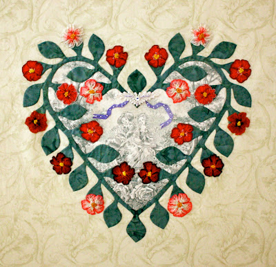 Heart Home Quilt of the Month pattern applique book | eBay