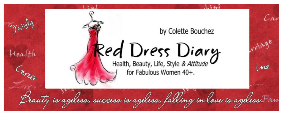 Colette Bouchez On Health, Beauty,  Style , Attitude  for  Fabulous Women Over 40!