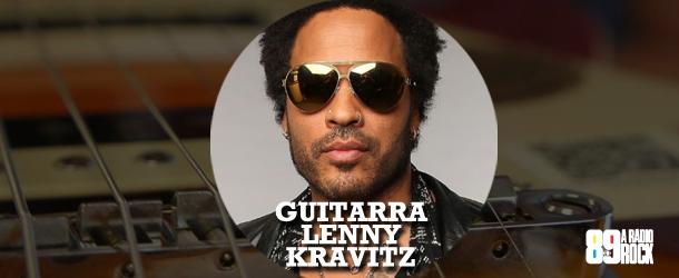 Promoção Guitarra do Lenny Kravitz - Rádio Rock
