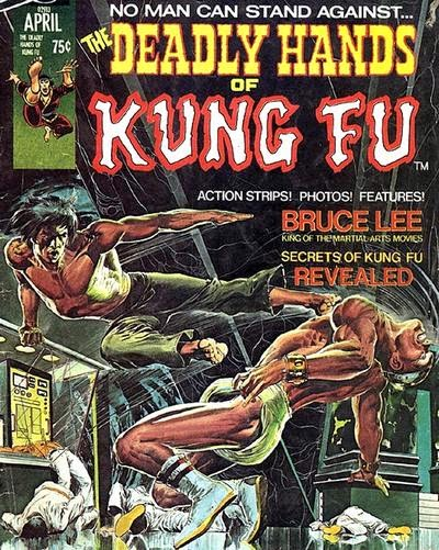 Portada de The Deadly Hands Of Kunf Fu #1.jpg