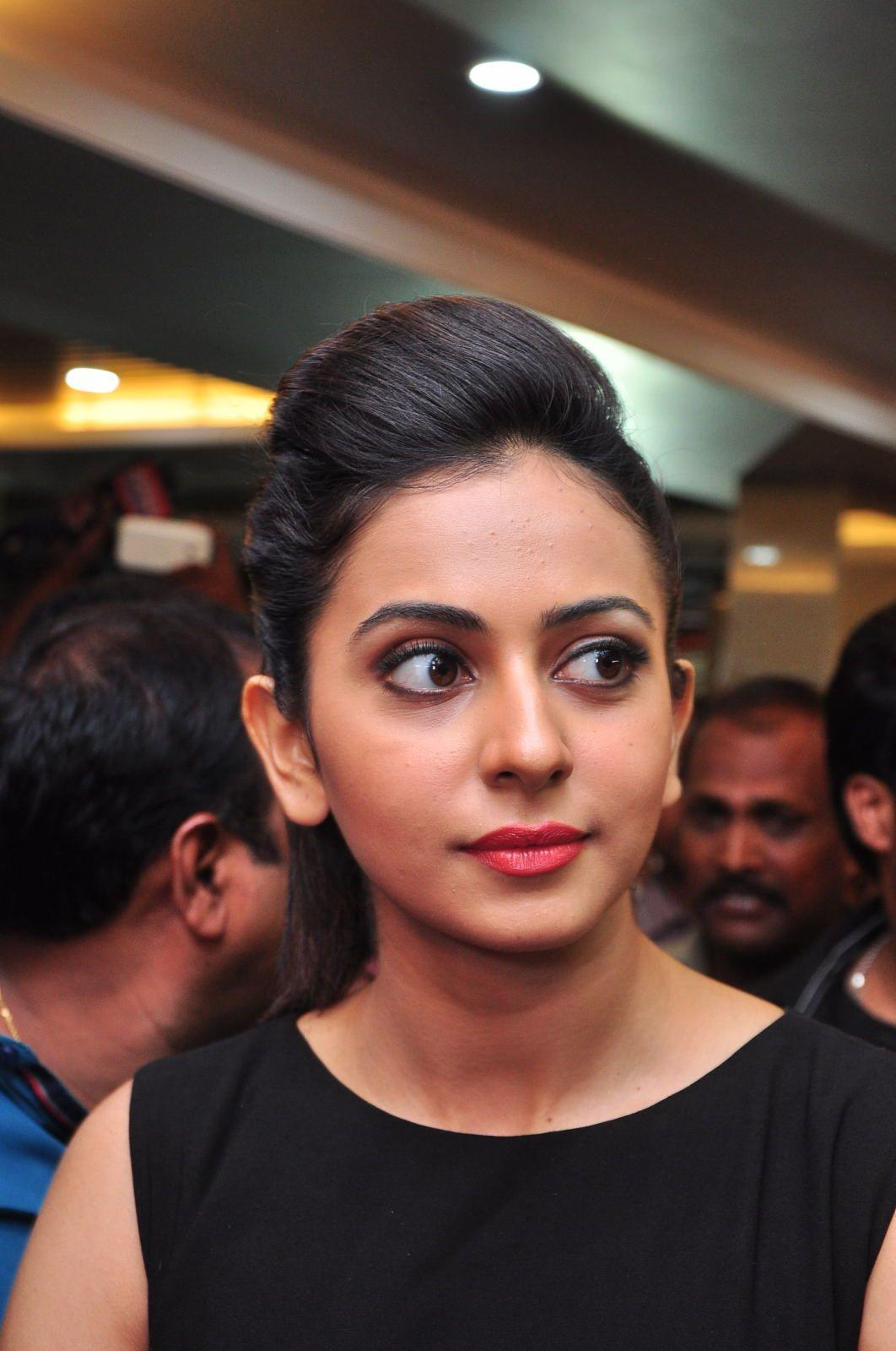 Rakul Preet Singh Launches Bahar Cafe At Sr Nagar