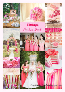 Reception Theme - Vintage Ombre Pink