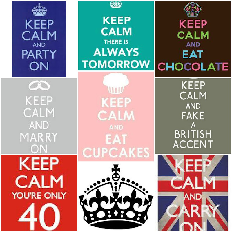 Belle Phrase En Anglais living in london: keep calm and carry on