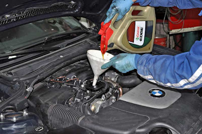 5w30 CASTROL oil engine BMW 320d E46