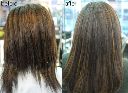 Silicone hair extensions in seoul korea suins hair salon in her hair extensions a more natural and more feminine hair style has been completed pmusecretfo Gallery