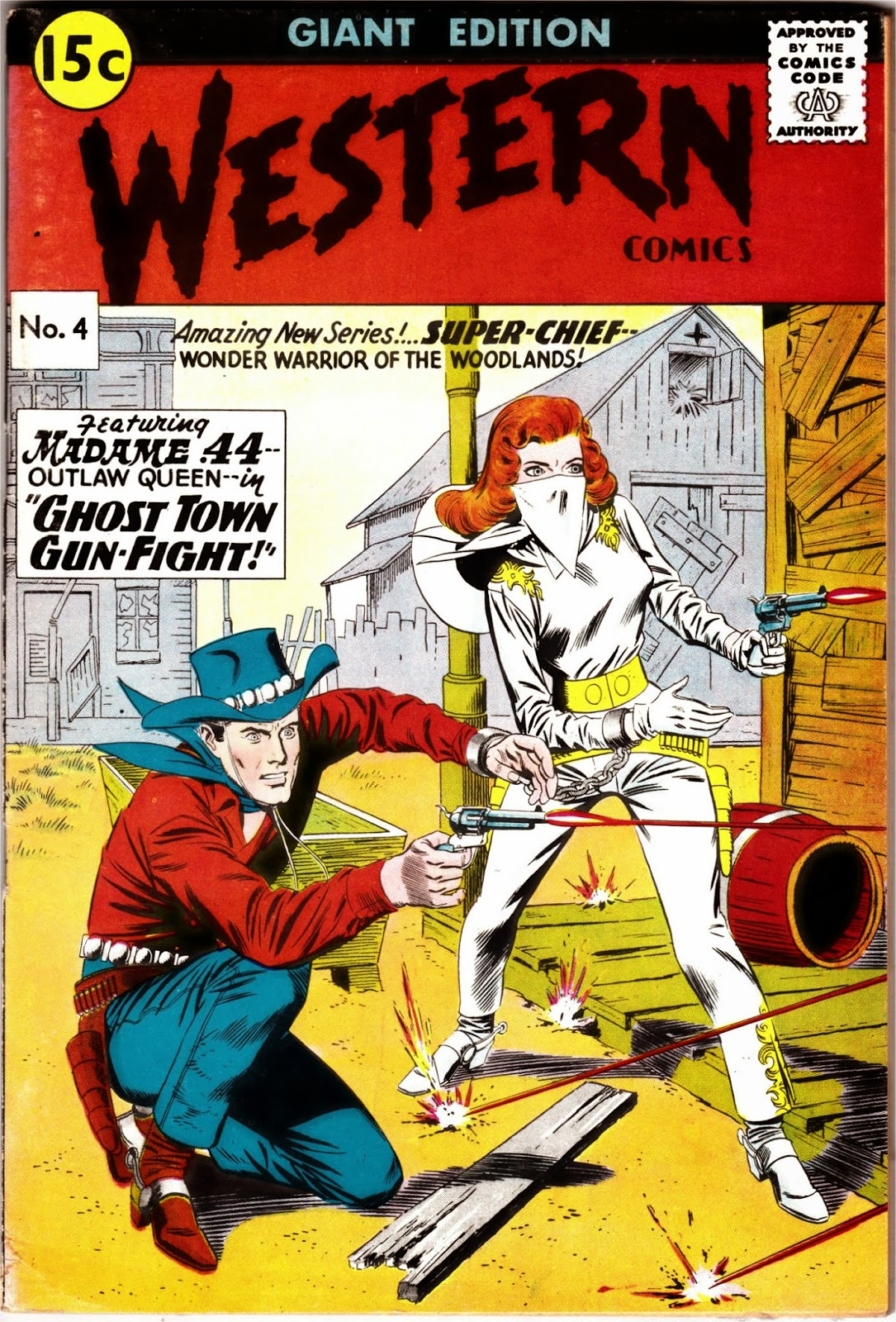South African Comic Books: Mimosa Western Comics Series