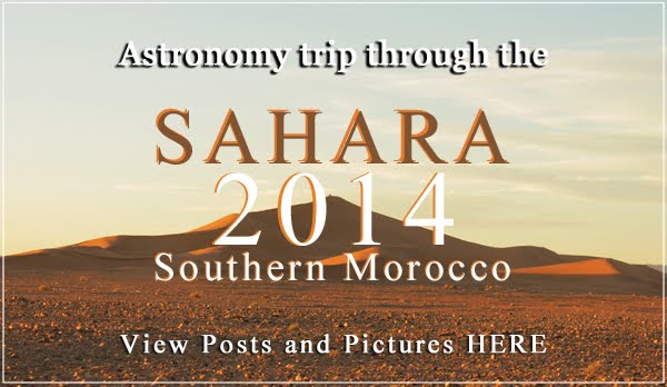 Read Club's Astronomy trip in Sahara, Southern Morocco