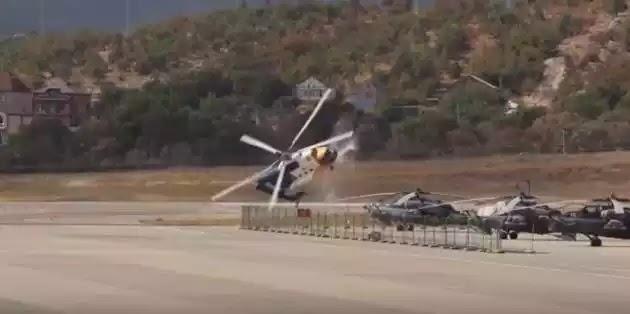 Ελικόπτερο Mi-8 συντρίβεται μπροστά στην κάμερα – Σκληρές εικόνες (βίντεο)